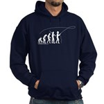 Fly Fishing Evolution Hoodie (dark)