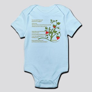 Matthew 11:28-29 Infant Bodysuit