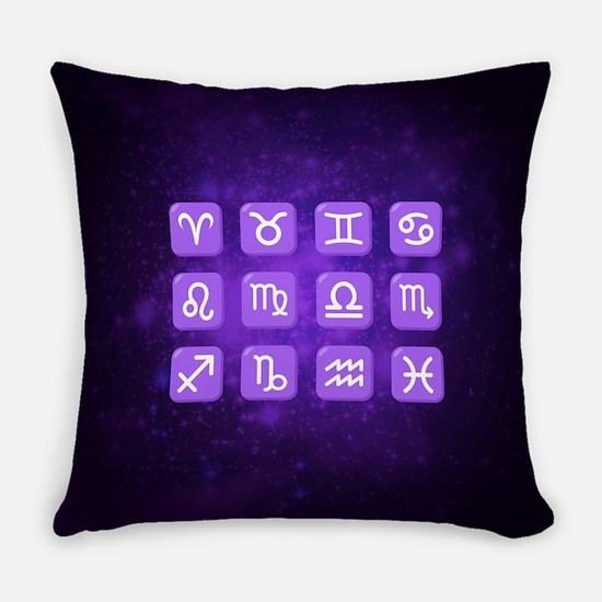 Emoji Zodiac Everyday Pillow