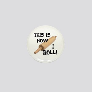 Rolling Pin Mini Button