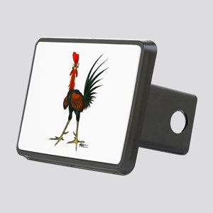 Crazy Rooster Rectangular Hitch Cover