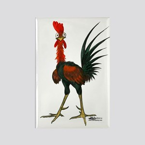Crazy Rooster Magnets