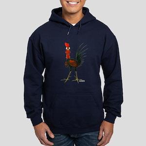 Crazy Rooster Hoodie (dark)