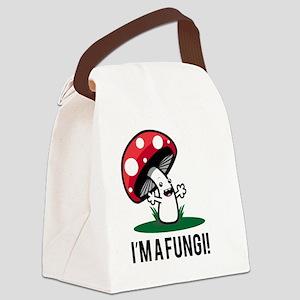 I'm A Fungi! Canvas Lunch Bag