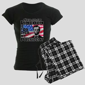 Lincoln 4ever Women's Dark Pajamas