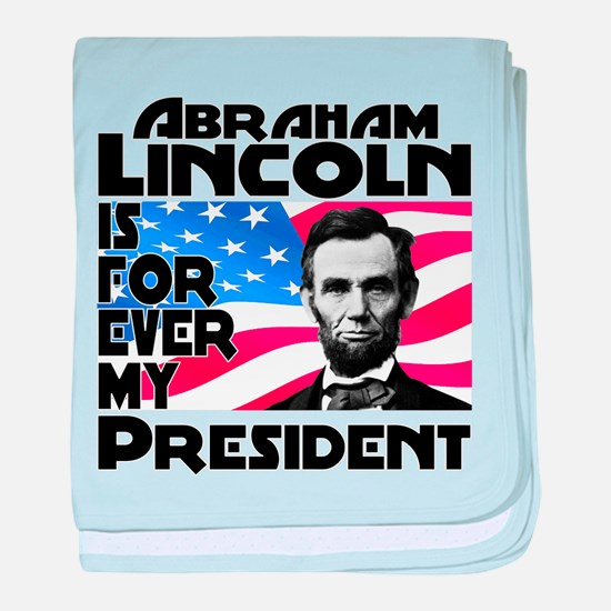 Lincoln 4ever baby blanket