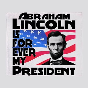 Lincoln 4ever Throw Blanket