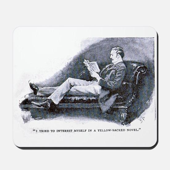 Watson Reads Mousepad