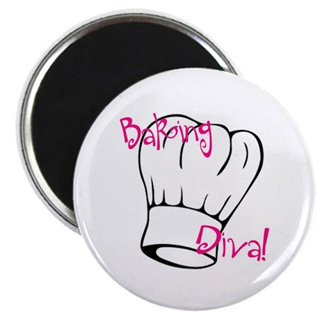 Baking Diva Magnet