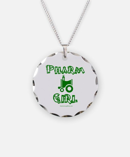 Pharm Girl Trans.png Necklace