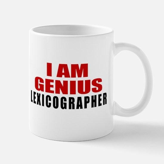 I Am Genius Lexicographer Mug