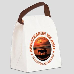 Assateague Island Canvas Lunch Bag