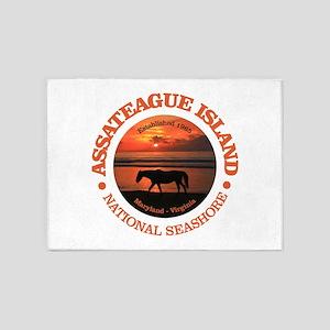 Assateague Island 5'x7'Area Rug