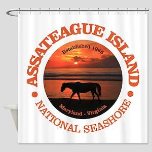 Assateague Island Shower Curtain