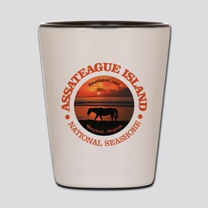 Assateague Island Shot Glass