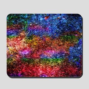 Rainbow Glitter Mousepad