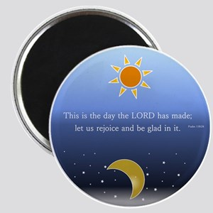 Psalm 118:24 Magnet