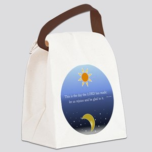 Psalm 118:24 Canvas Lunch Bag