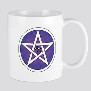 Eye of Horus Pentagram Mugs
