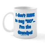 Grandpa says yes Mug