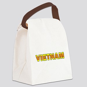 Vietnam Flag 001 Canvas Lunch Bag
