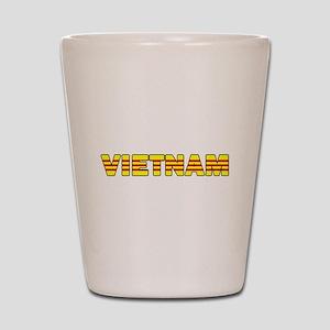 Vietnam Flag 001 Shot Glass