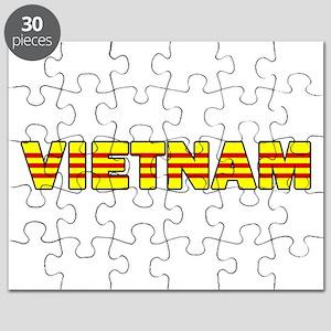 Vietnam Flag 001 Puzzle