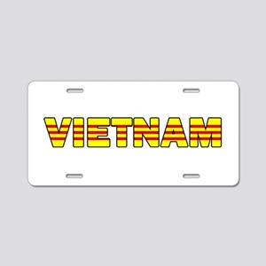 Vietnam Flag 001 Aluminum License Plate