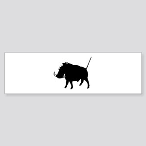 Wart Hog Bumper Sticker