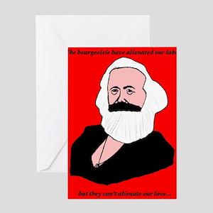 Marxist Valentine Greeting Cards