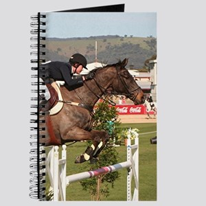 Show jumping horse and rider, Adelaide, So Journal