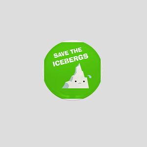 Save the Icebergs Mini Button