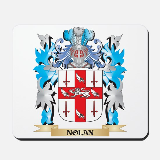 Nolan Coat of Arms - Family Crest Mousepad