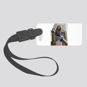 Cover Girl Elizabeth Paige Small Luggage Tag