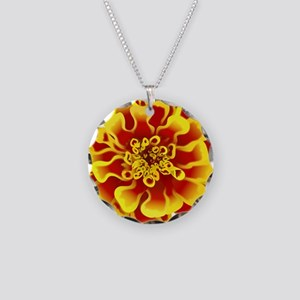 Marigold Flower Necklace