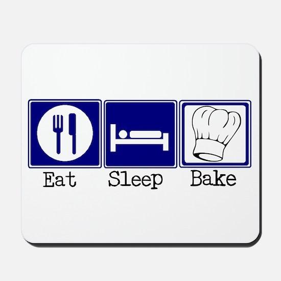 Eat, Sleep, Baking Mousepad