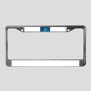 Technology Mosaic License Plate Frame