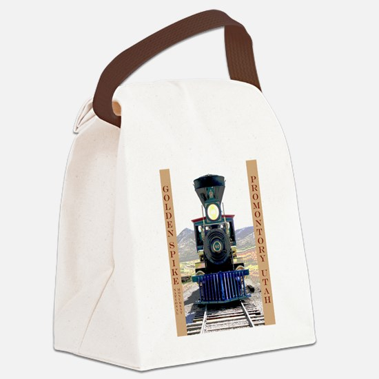 Golden Spike National Monument Canvas Lunch Bag
