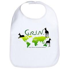 GRIN Logo Bib