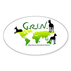 GRIN Logo Oval Decal