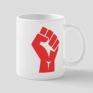 Red Power Fist Mugs