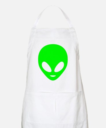 Neon Green Alien Apron
