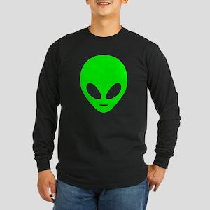 Neon Green Alien Long Sleeve T-Shirt