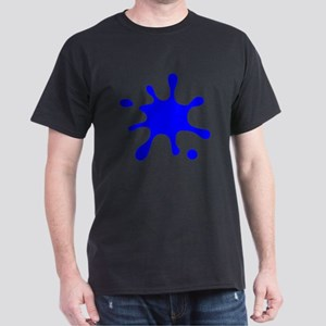 Blue Splatter T-Shirt