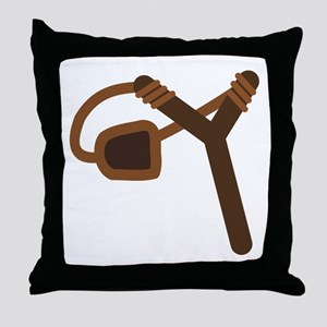 Empty Slingshot Throw Pillow