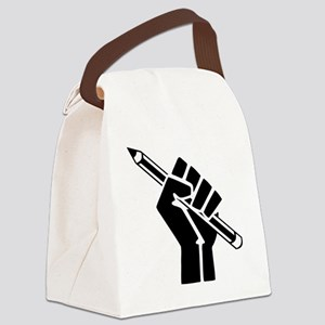 Writer Power Canvas Lunch Bag
