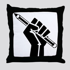 Writer Power Throw Pillow