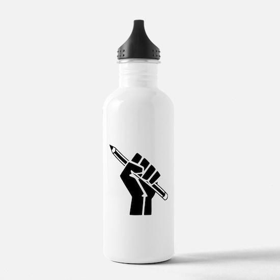 Writer Power Water Bottle