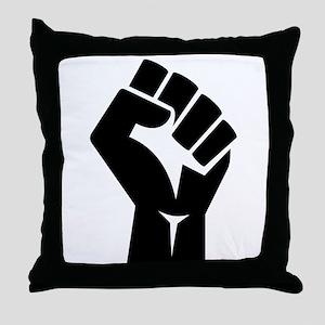 Power Fist Throw Pillow