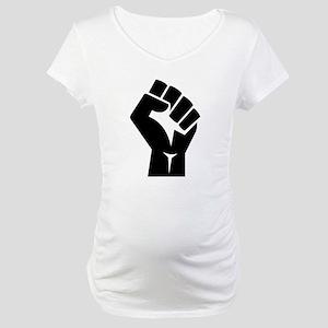 Power Fist Maternity T-Shirt